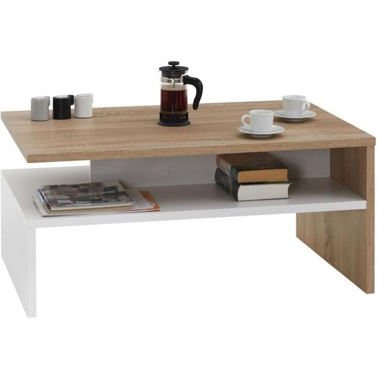 Table Basse Adelaide Table De Salon Rectangulaire Avec