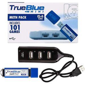 JEU PS1 True Blue Mini Pack Meth 64 Go Intégré 101 jeux po