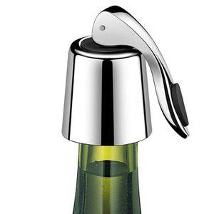 BOUCHON - DOSEUR  Bouteille de vin en acier inoxydable Prise boisson