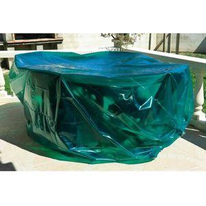 HOUSSE MEUBLE JARDIN  bache de protection table chaise jardin 150 cm