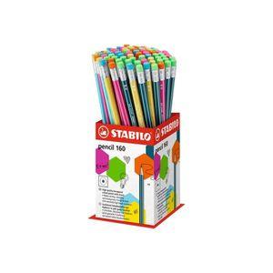 CRAYON GRAPHITE STABILO pencil Crayon HB avec gomme pack de 72