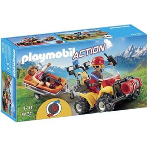 UNIVERS MINIATURE PLAYMOBIL 9130 - Action - Secouristes des Montagne