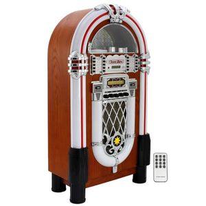 JUKEBOX Jukebox Rétro années 1950 Lecteur CD Stéréo Radio