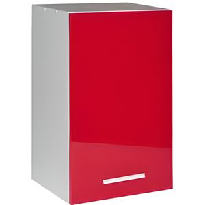ÉLÉMENTS HAUT Meuble cuisine haut 60 cm 1 porte TARA rouge
