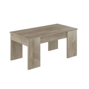 Table Basse Plateau Relevable Soa Achat Vente Pas Cher