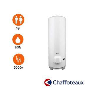 CHAUFFE-EAU Chauffe-eau stéatite 200l Ø 570 mm stable - chaffo