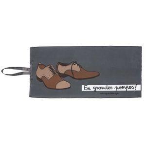 SAC À CHAUSSURES Poche à Chaussures GRANDES POMPES - Housse de Rang