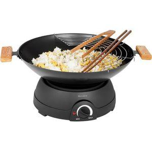 WOK DOMOCLIP DOM194 Wok électrique et fondue - Noir