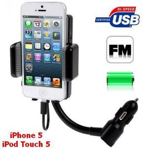 INTERCOM MOTO Support-Chargeur-Kit main-libre Iphone5-iPod5 FM