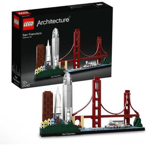 ASSEMBLAGE CONSTRUCTION LEGO® Architecture 21043 - San Francisco