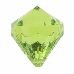 Décors de table Perle pampille diamant verte (x6) REF/3852