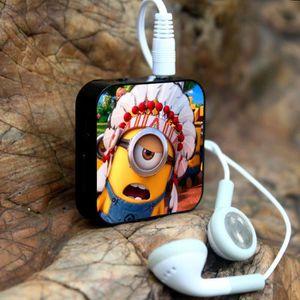 MP3 ENFANT Minions Mini lecteur MP3 + USB with écouteurs Câbl