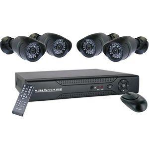 CAMÉRA DE SURVEILLANCE SMARTWARES DVR640S Pack 4 caméras de surveillance