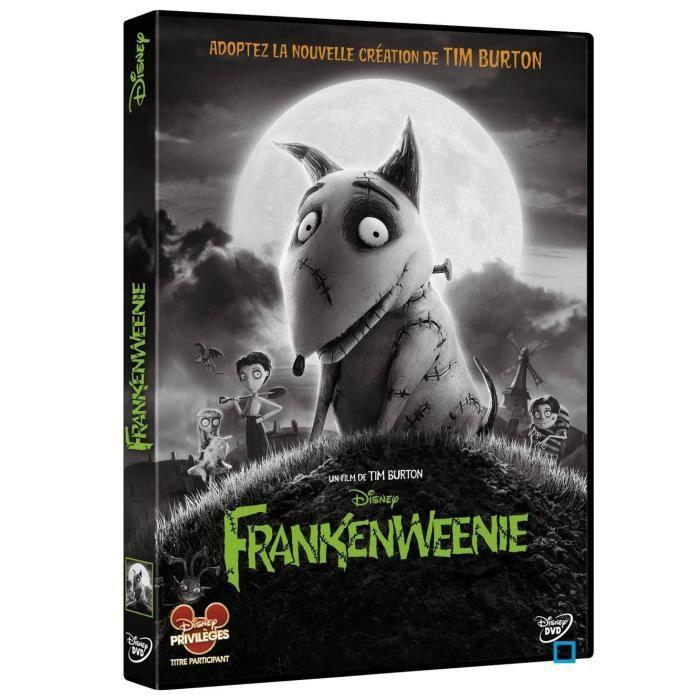 Disney Classiques Dvd Frankenweenie En Dvd Film Pas Cher Cdiscount