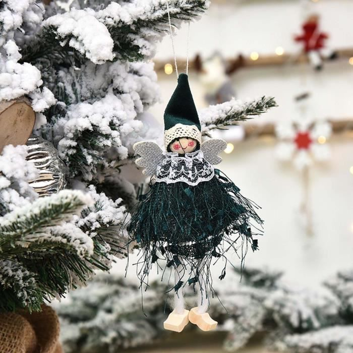 1PC Christmas Ornaments Gift Santa Claus Snowman Toy Doll Hang A1195
