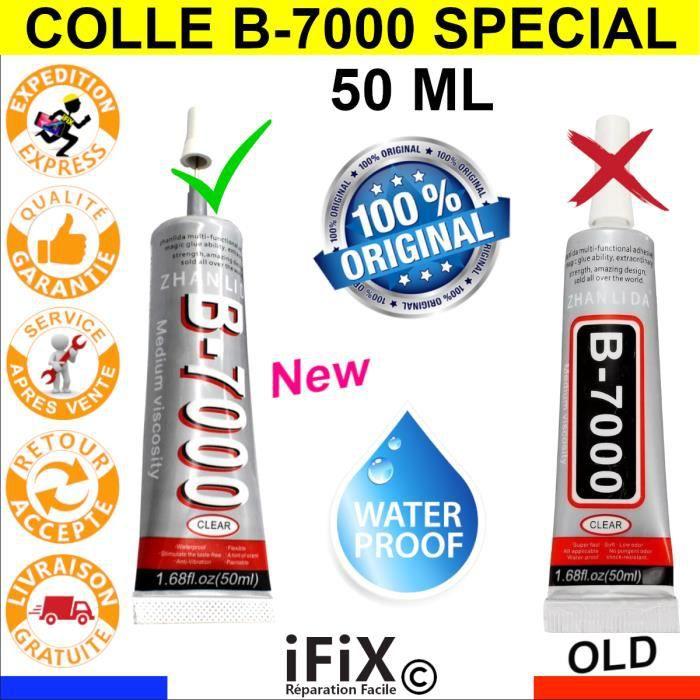 Colle B7000 50ml Réparation Écran / Vitre Smartphone / Tablette