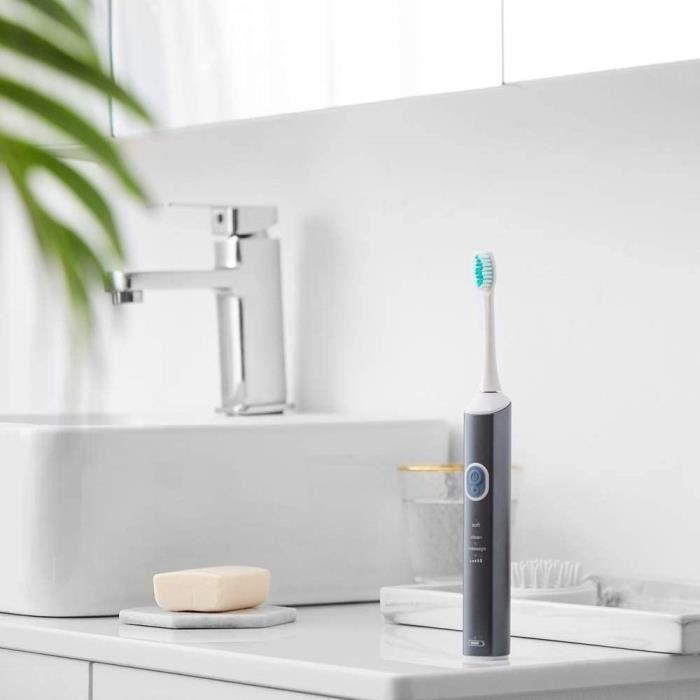 Brosses à dents électriques XIUYU Brosse à Dents électrique Rechargeable USB étanche Clean Brosse à Dents Adultes Dentis 89893