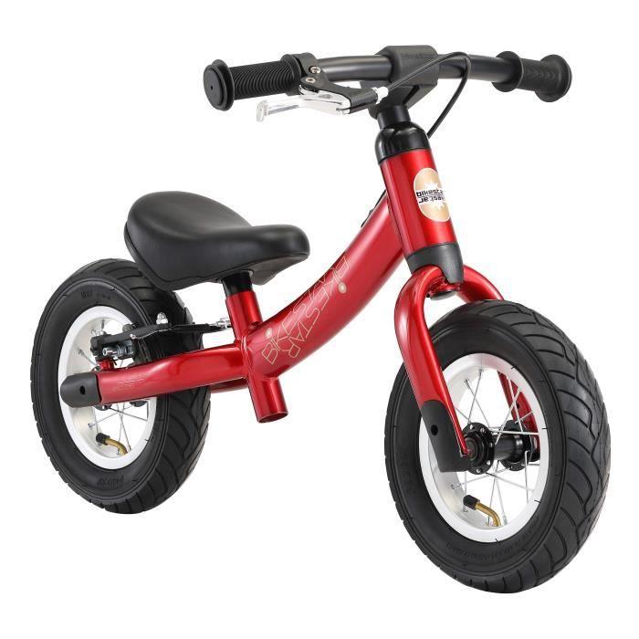 BIKESTAR - Draisienne - 10 pouces - pour enfants de 2-3 ans - Edition Sport - garçons et filles - Rouge