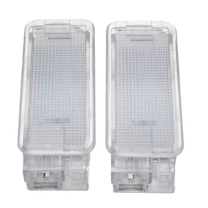 2 X Lumière Plaque D'immatriculation Pour Peugeot 207 208 307 106 308 407 Citroen C2 C3 C4 C6 PC Bo21935