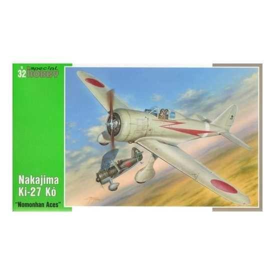 Nakajima Ki-27 'Nate' les As de Nomonhan