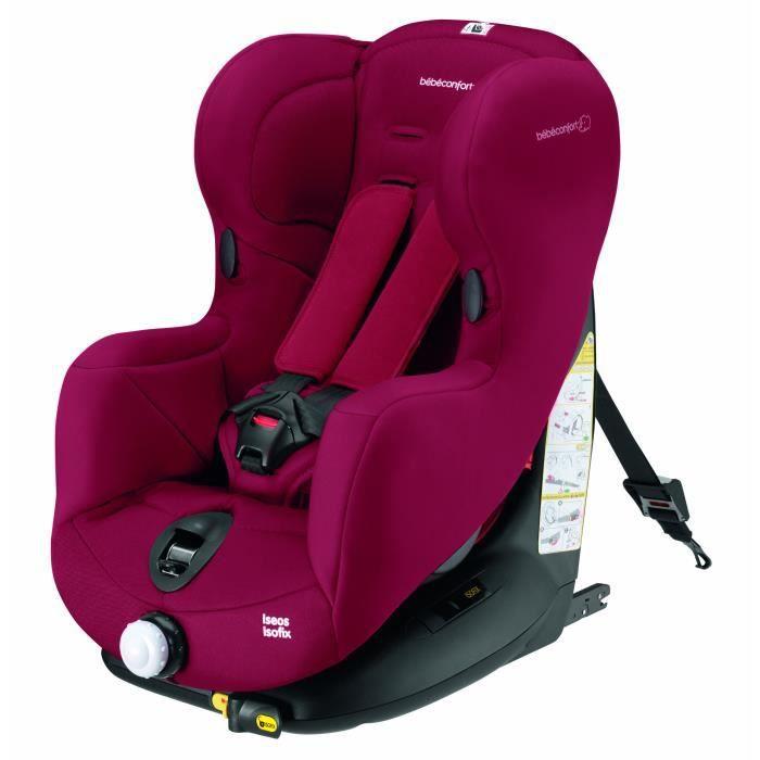 Bébé Confort ISEOS ISOFIX Siege-auto Raspberry Red Groupe 1 9-18 kg