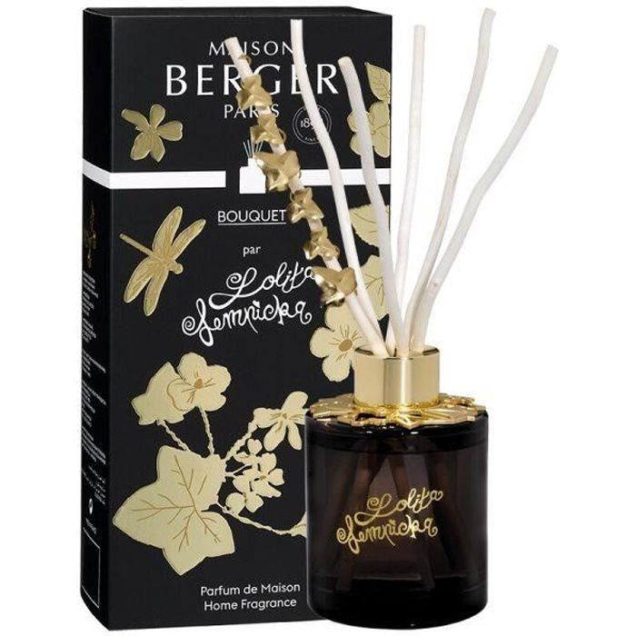 BOUQUET PARFUME BIJOU LOLITA LEMPICKA BLACK EDITION 115 ML - MAISON BERGER PARIS