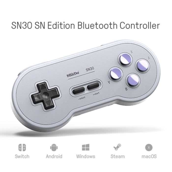 8Bitdo SN30 Wireless Controller Support android MacOS Switch Gamepad