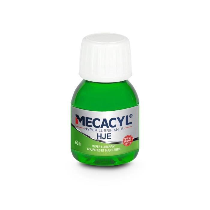 MECACYL HJE Hyper-Lubrifiant spécial protection des injecteurs - Moteur Essence - 60 ml