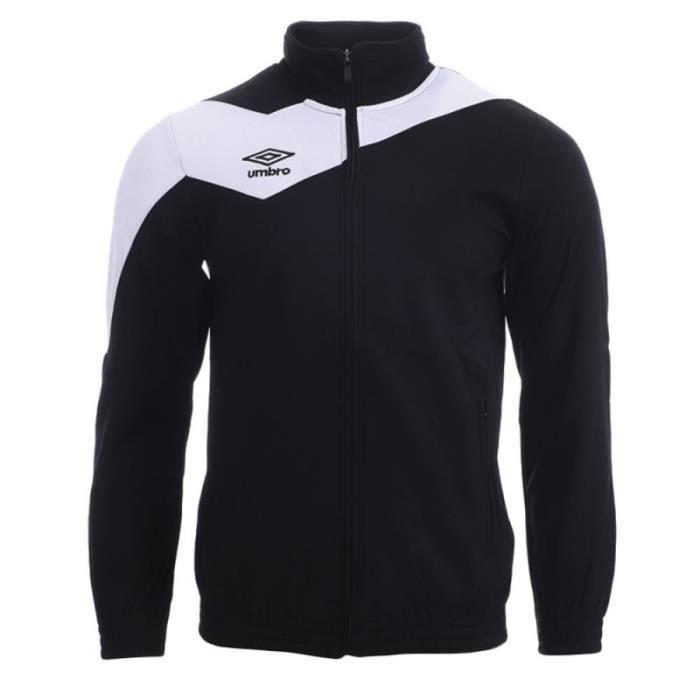 Veste de survêtement Noir/Blanc Homme Umbro Division 1