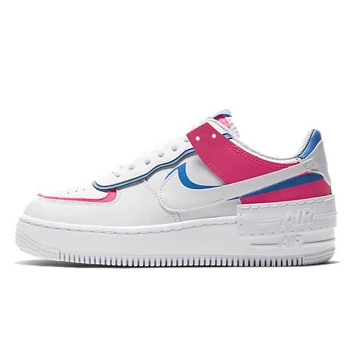 Basket Air Force 1 Shadow Air Force One AF 1 Low Chaussures de Running Femme CU3012-1111