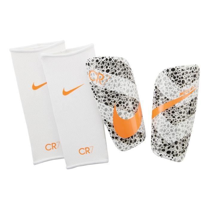 Protège-tibias Nike Mercurial Lite CR7 Safari Blanc 79 % K RESIN / 21 % EVA