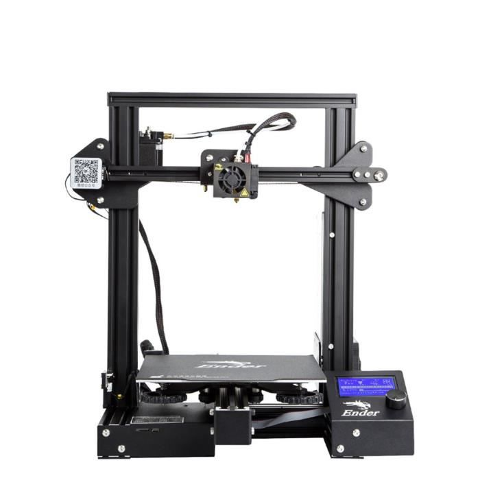 Ender 3 Pro Imprimante 3D en aluminium Prise Uk (l'adaptateur non inclus)