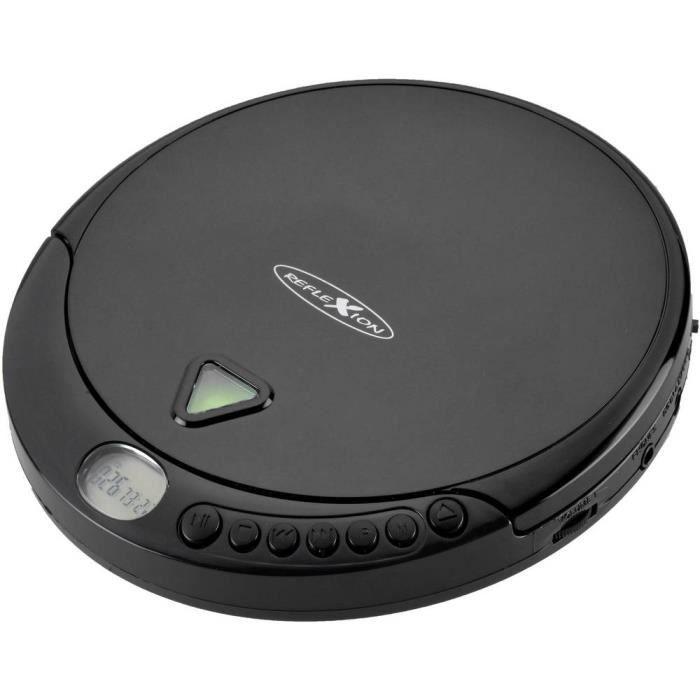 RADIO CD - RADIO CASSETTE - FM - Lecteur CD portable Reflexion PCD510MF PCD510MF CD, CD-R, CD-RW, MP3 noir 1 pc(s)