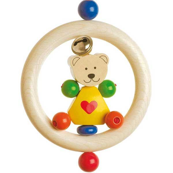 Hochet pour bébé, Teddy petit ourson