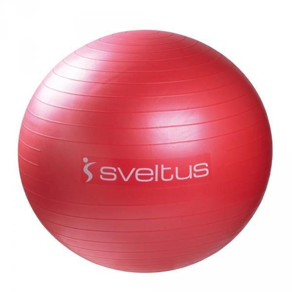 Gym Ball Rouge (diamètre 65 cm).