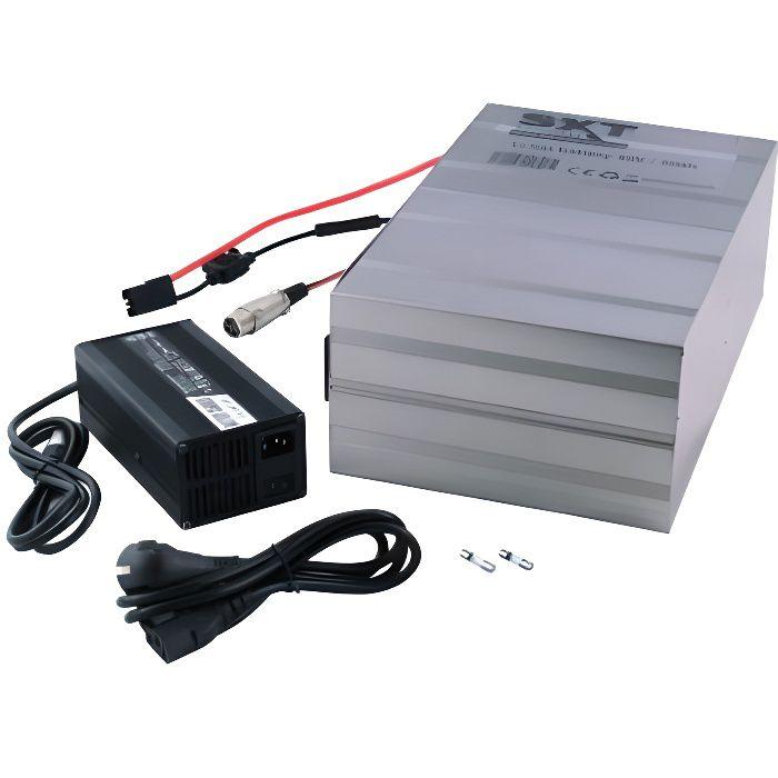 Batterie 48V 30Ah Li-Ion Lithium pour trottinette électrique SXT