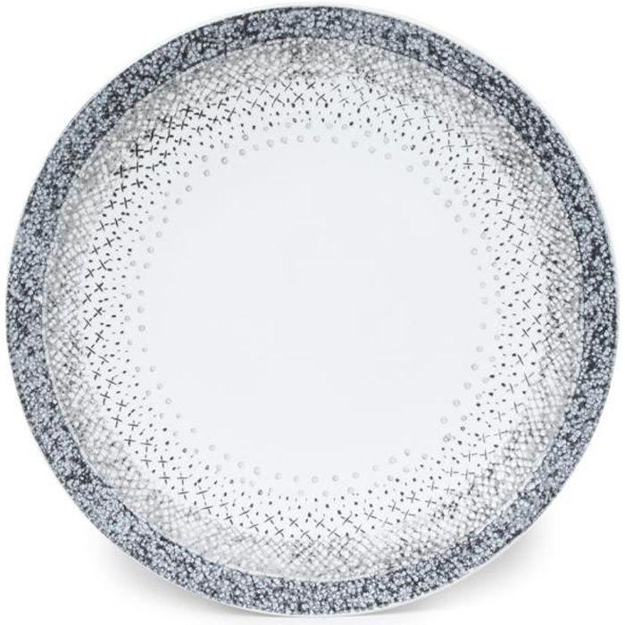 TABLE PASSION - ASSIETTE PLATE STELLA 27CM (LOT...