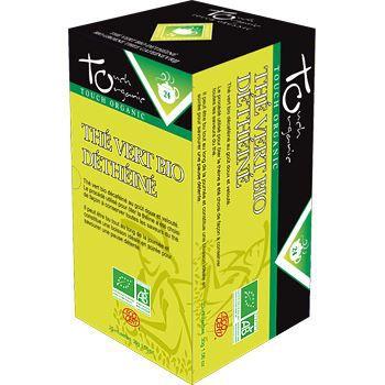 Touch Organic The vert BIO detheine 20 sachets 30g