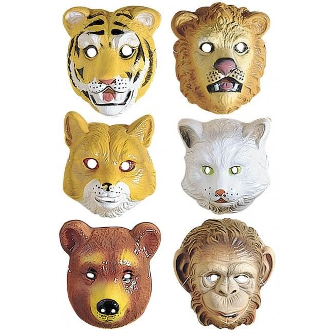Masque animal enfant ours