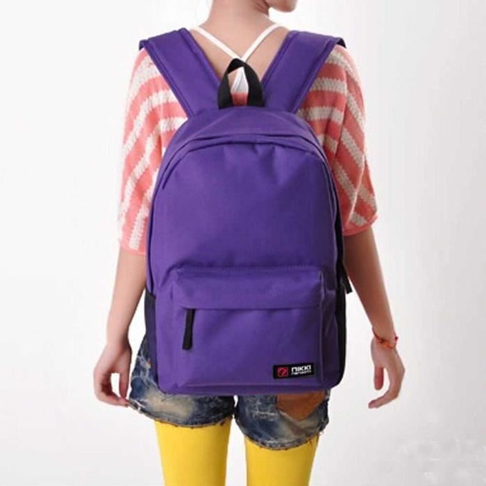 Homme love Student Femme Bag Shoulder Violet School 2582 Dedasing® Backpack Purple Handle 15qvWfW