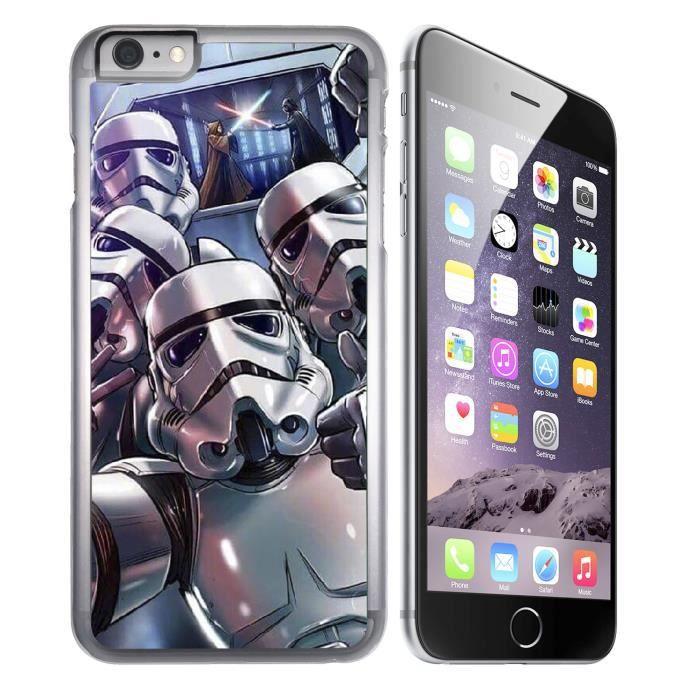 coque iphone 7 star wars stormtrooper selfie