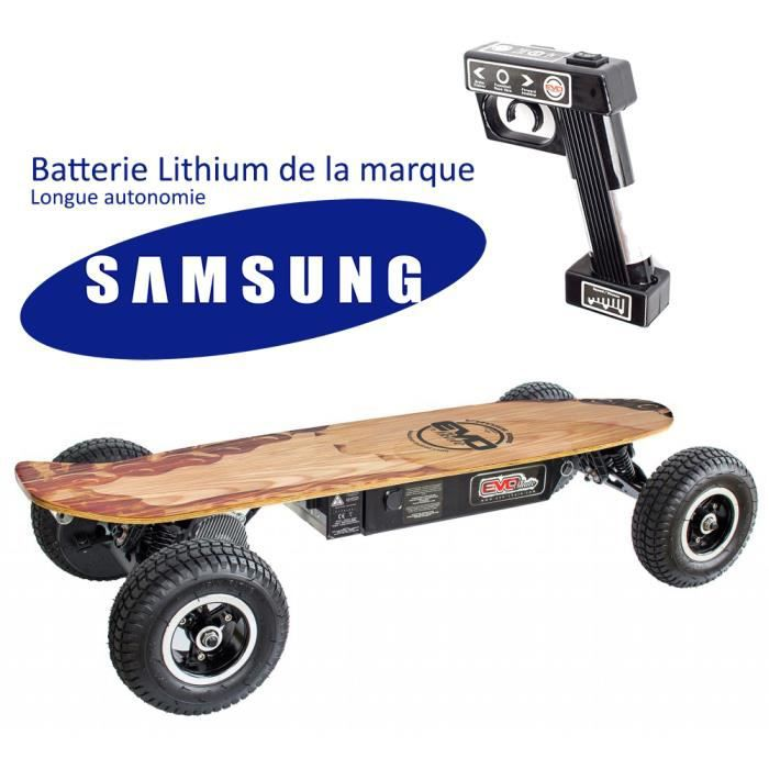 skateboard lectrique lithium grande autonomie t l commande achat vente skateboard. Black Bedroom Furniture Sets. Home Design Ideas