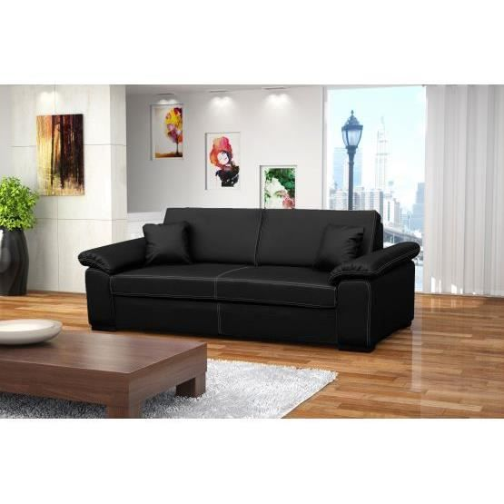 canape convertible 3 places polyurethane. Black Bedroom Furniture Sets. Home Design Ideas