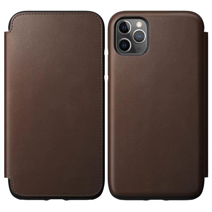 Young Rich Housse Coque iphone11 Pro Max Etui en cuir amovible Position multi