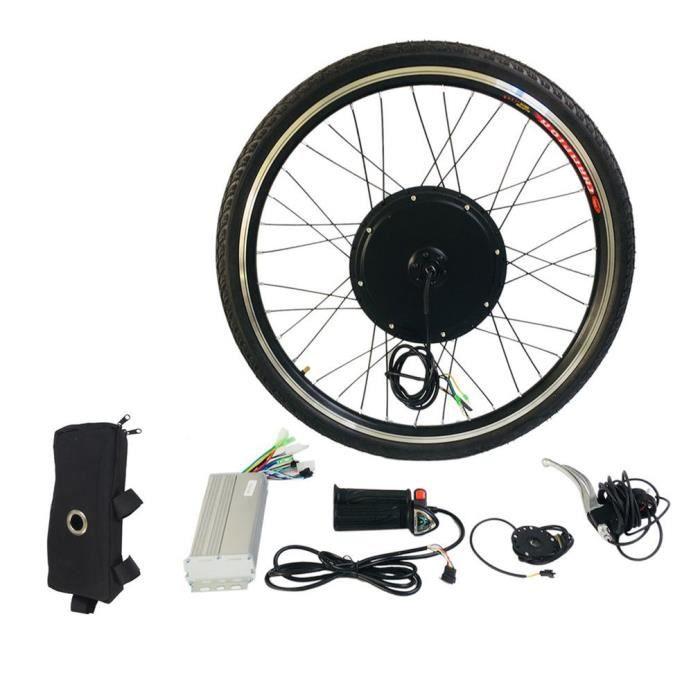 """Kit de Conversion de v/élo /électrique Kit de Moteur pour v/élo /électrique Avant//arri/ère 24V 250W Kits de Conversion de v/élo /électrique pour Roue de 26 /""""avec /écran LCD"""