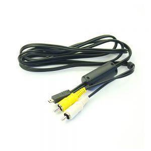 Av De Audio Visual Cable De Plomo Para Panasonic Lumix Dmc-tz1 Tz2 Dmc-tz3