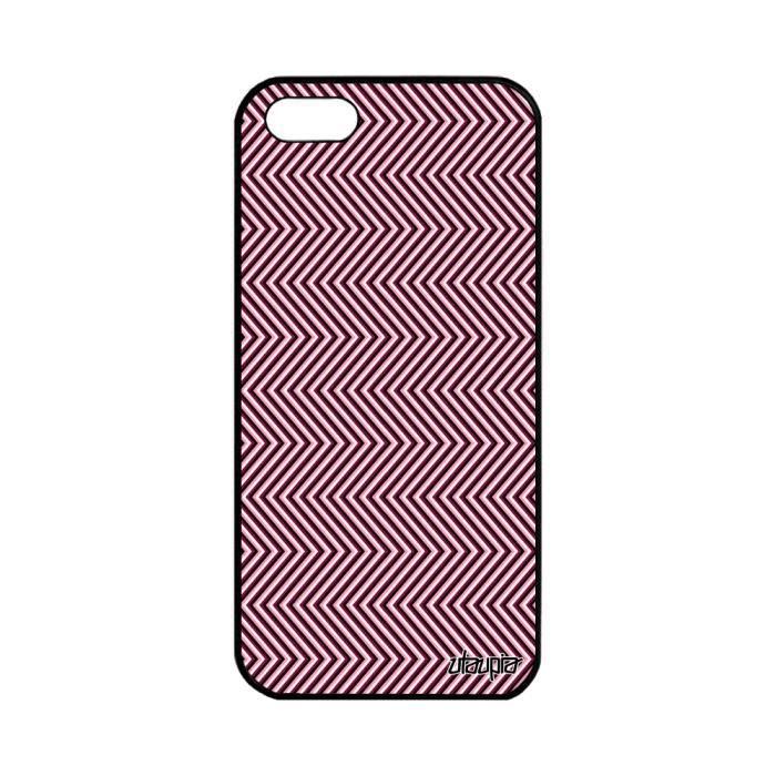 coque apple iphone 5 5s se silicone illusion d opt