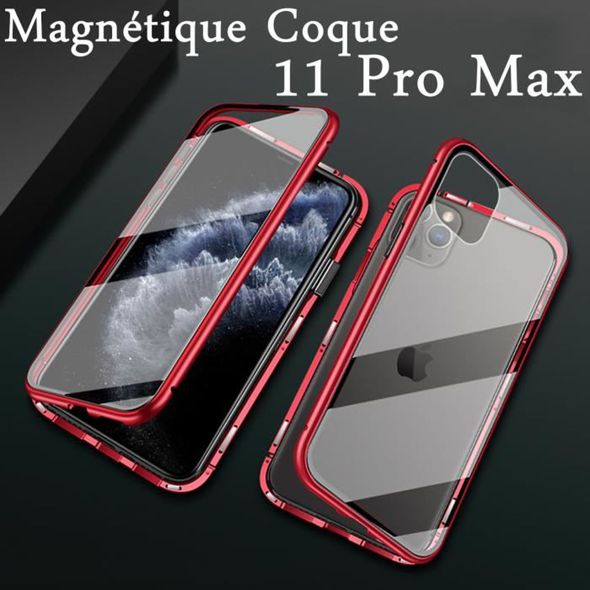 Coque iphone 11 pro max double