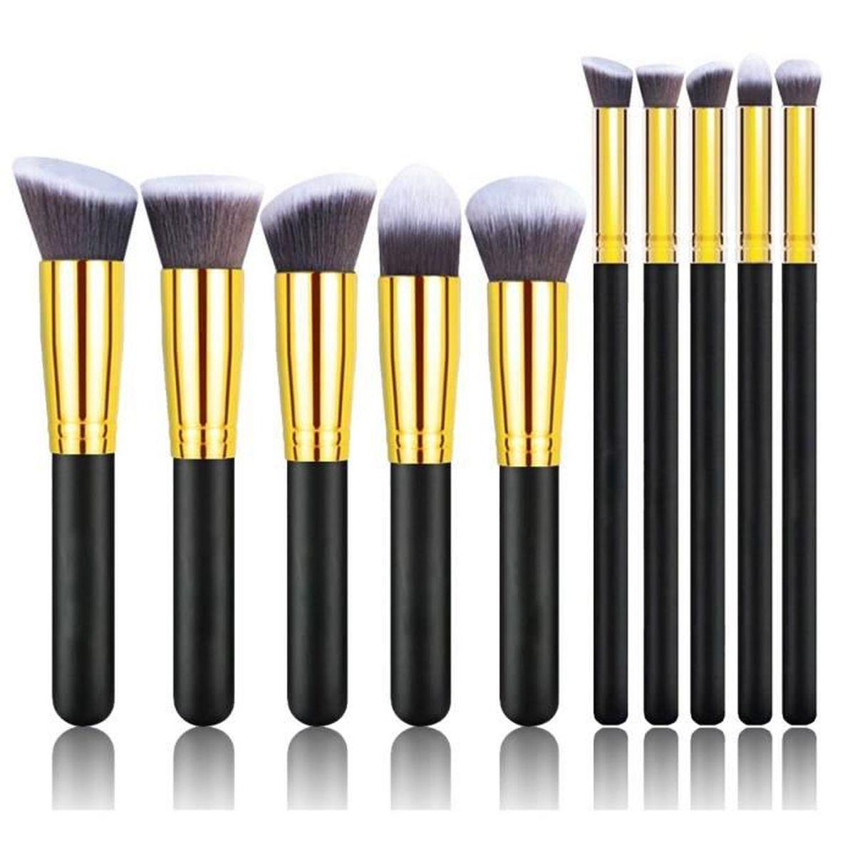 Style 10pcs Professional Kabuki Makeup