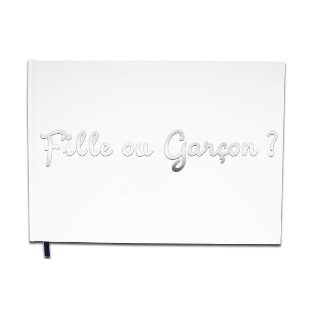 Livre D Or Baby Shower Fille Ou Garcon Lettres Chromees